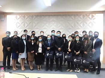 ผู้บริหารวิทยาลัยโลจิสติกส์และซัพพลายเชน หารือร่วมกับ ตัวแทน บริษัท ชิโนทรานส์ ไทย โลจิสติค จำกัด  บริษัท ซี.ซี.ไอ.ซี (ประเทศไทย) จำกัด และ มหาวิทยาลัยยูนนาน ประจำประเทศไทย