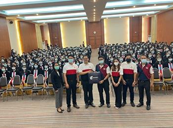 วิทยาลัยโลจิสติกส์และซัพพลายเชน เข้าแนะแนวการศึกษาต่อระดับปริญญาตรี ให้กับนักศึกษา ปวส. ณ วิทยาลัยเทคโนโลยีอักษรพัทยา จ.ชลบุรี