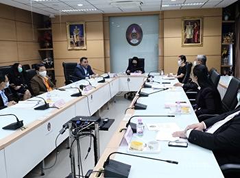 การประชุมคณะกรรมการอำนวยการวิทยาลัยโลจิสติกส์และซัพพลายเชน ครั้งที่ 3/2564